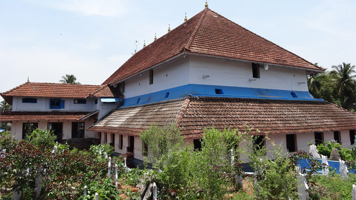 Jama-at Mosque: an important pilgrim centre of the Muslims in Kerala, Malappuram