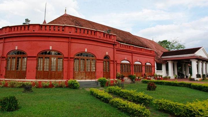 Kanakakkunnu Palace at Thiruvananthapuram, Kerala