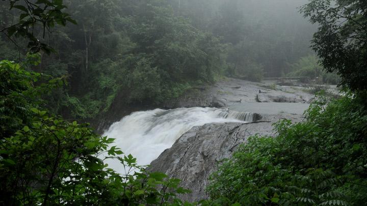 Kanthanpara Waterfalls at Kalpetta in Wayanad