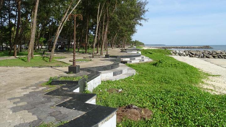 Kappad - the historic beach where Vasco-da-Gama landed at Kozhikode,