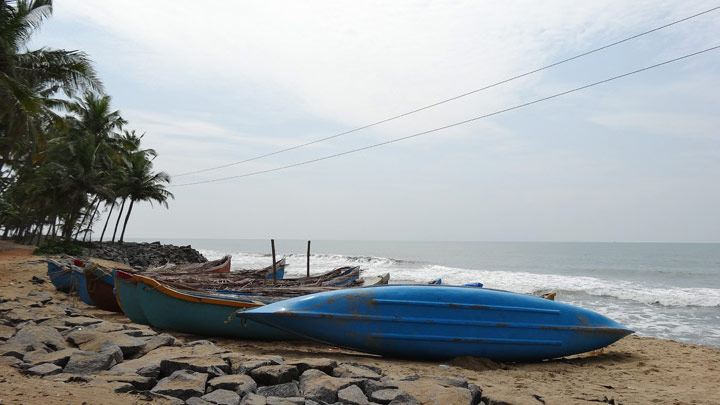 Kolavi Beach at Payyoli, Kozhikode