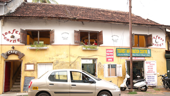 Loafer's Corner or Princess Street, Fort Kochi