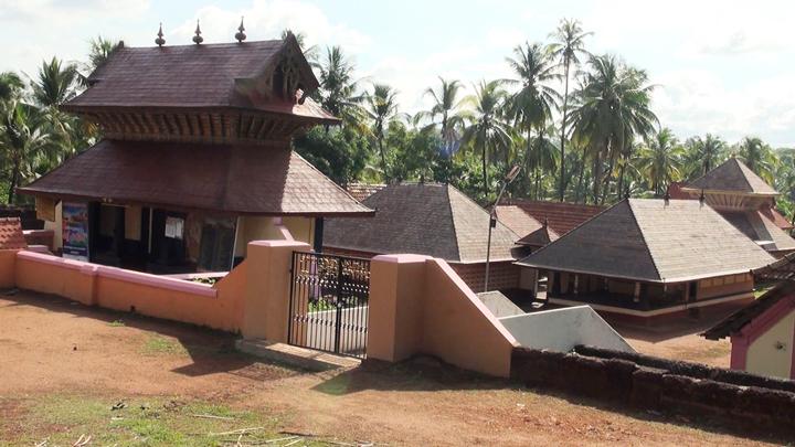 Madiyankulam Durga Temple - famous for Bhutha dance, Hosdurg, Kasaragod