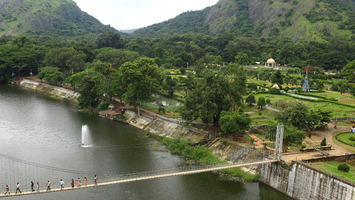 Malampuzha Dam and Garden in Palakkad