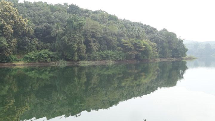 Mangalam Dam - tourism centre near Vadakkencherry, Palakkad