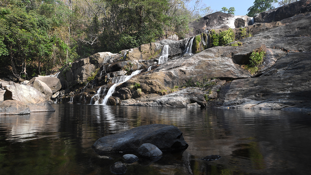 Meenmutty Waterfall, Thiruvananthapuram