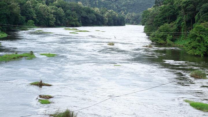 River Pamba in Pathanamthitta