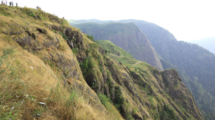 Paruthumpara or the Eagle Rock at Peerumedu in Idukki