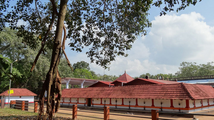 Pishakarikavu temple at East Hill, Kozhikode