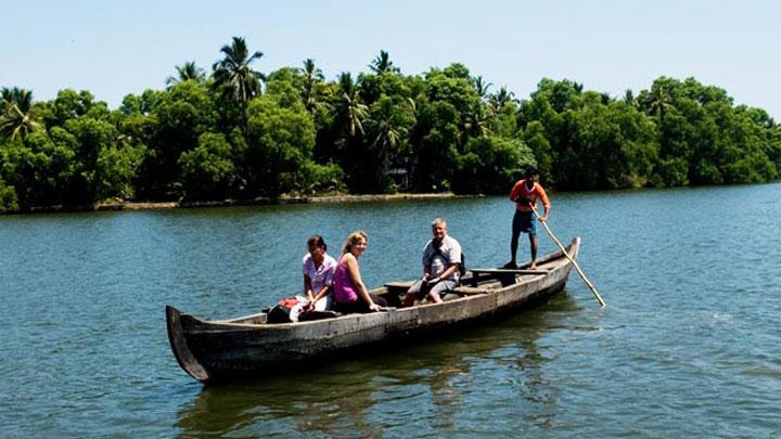 Ponnumthuruthu Island near Varkala, Thiruvananthapuram,