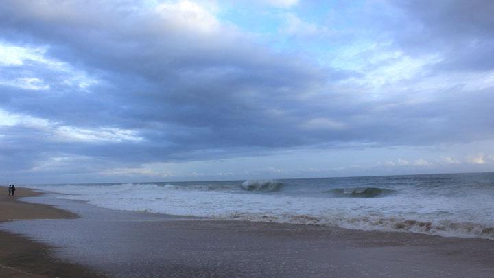 Poovar Beach near Kovalam,Thiruvananthapuram
