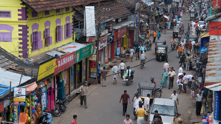 S. M. Street - the Busiest Street in Kozhikode