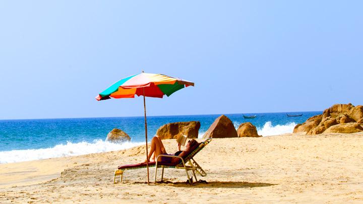 Samudra Beach, Kovalam