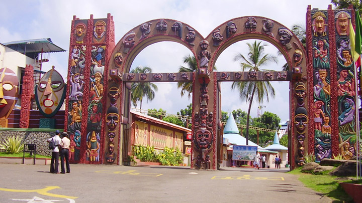 Silver Storm Amusement Park in Thrissur
