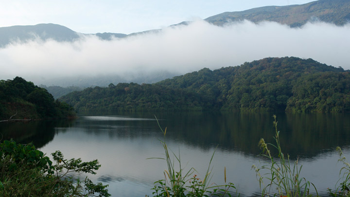 Siruvani Reservoir in Palakkad