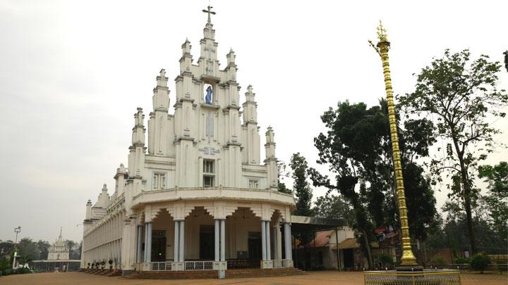 St. Mary's Forane Church at Athirampuzha, Kottayam