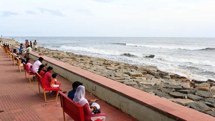 Thalikulam Snehatheeram Beach, Thrissur