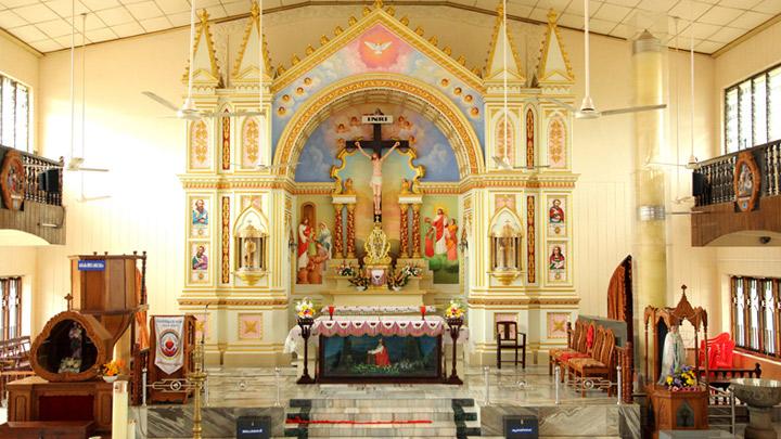 The Holy Cross Church, Mapranam