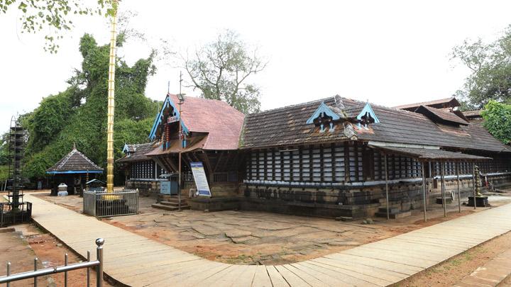 Thirumandhamkunnu Temple at Angadipuram, Malappuram