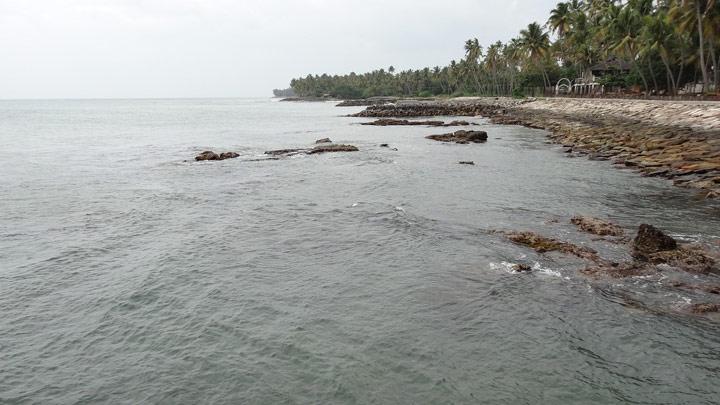 Thirumullavaram beach, Kollam
