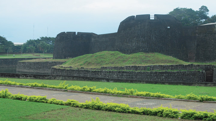 Tipu's Fort in Palakkad