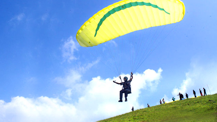Vagamon or Wagamon, International Paragliding Idukki