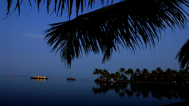 Vembanad Lake in Kottayam