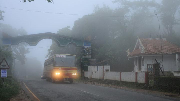 Vythiri Hill Station in Wayanad