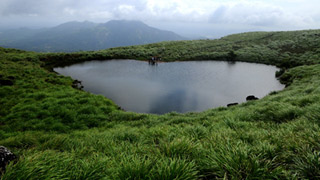 Chembra peak in Wayanad