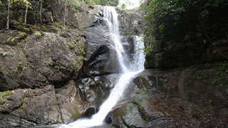 Kalakkayam waterfalls at Thiruvananthapuram
