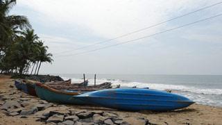 Kolavi Palam Beach in Payyoli