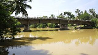 Thiruvallam Backwaters in Thiruvananthapuram
