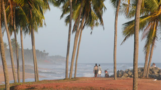 Thiruvambady Beach near Varkala