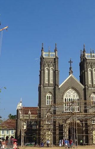 Arthunkal Church in Alappuzha