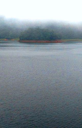 Kakkayam Dam Site in Kozhikode
