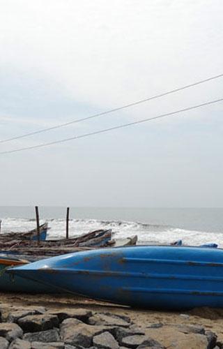 Plage de Kolavi Palam à Payyoli
