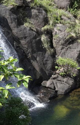 Madammakkulam Waterfalls near Peermedu