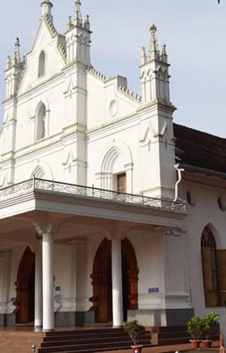 St. Mary's Church, Bharananganam