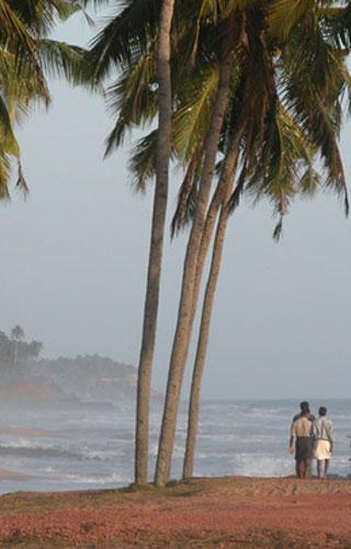 Thiruvambady Beach near Varkala