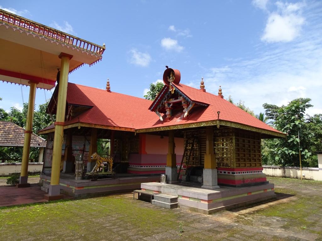 Sree Thamburatti Bhagavathi Temple, Kuttikol