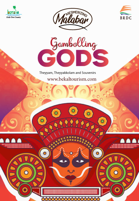 Gambolling Gods of Theyyam, Theyyakkolams and Souvenirs