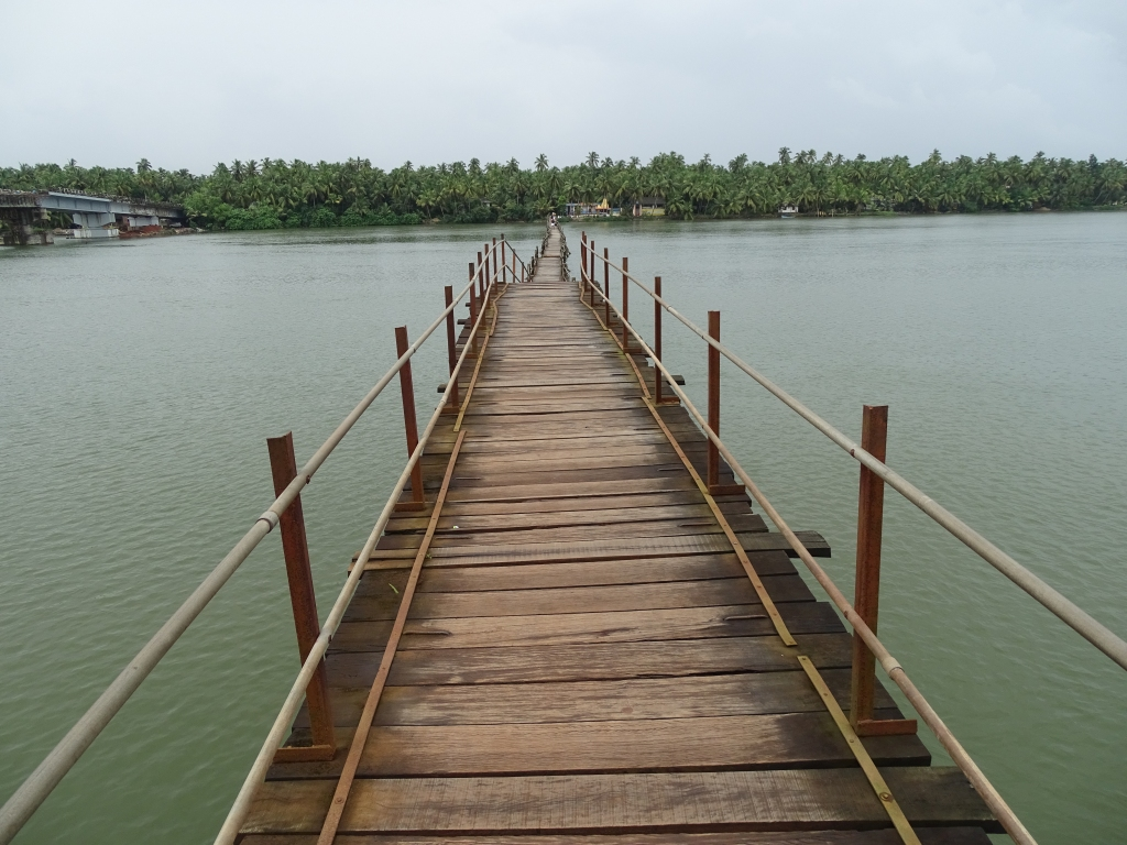 Kottappuram - Achamthuruthi Foot Bridge