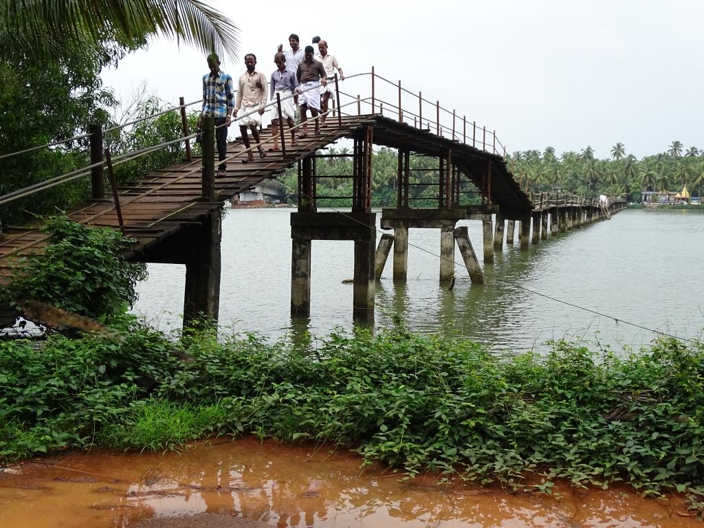 Walking Bridge over Kottapuram