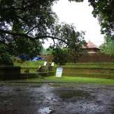 Outer view of Thodikkulam Siva Temple
