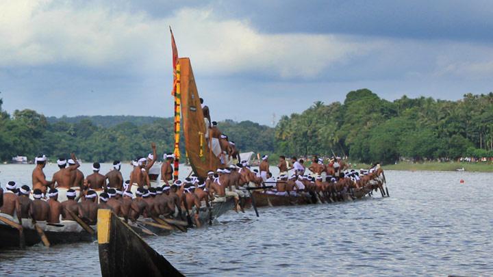Kearla's Chundan Vallom or Snake Boats