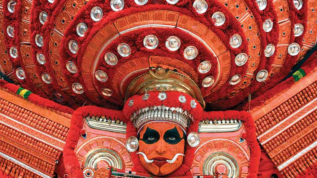A Theyyam performance from Malabar