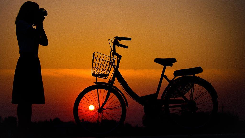 A unique bike tour