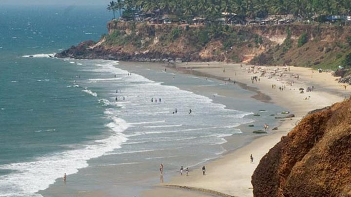 Varkala – the seaside destination with red laterite cliffs in Kerala