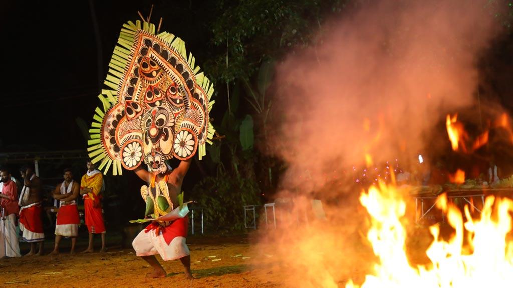 Padayani Kolam