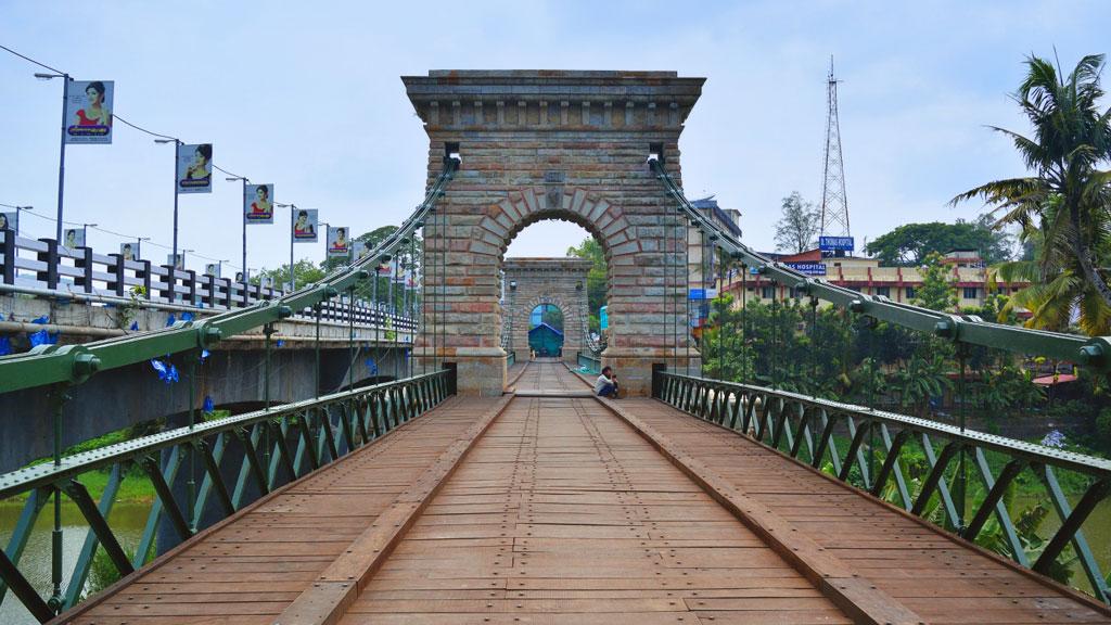 Punalur Suspension Bridge